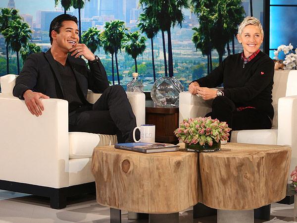Mario Lopez Ellen DeGeneres Show
