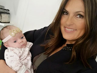 Mariska Hargitay Meets Baby Chanel: She Has Her Daddy Ice-T's Eyes