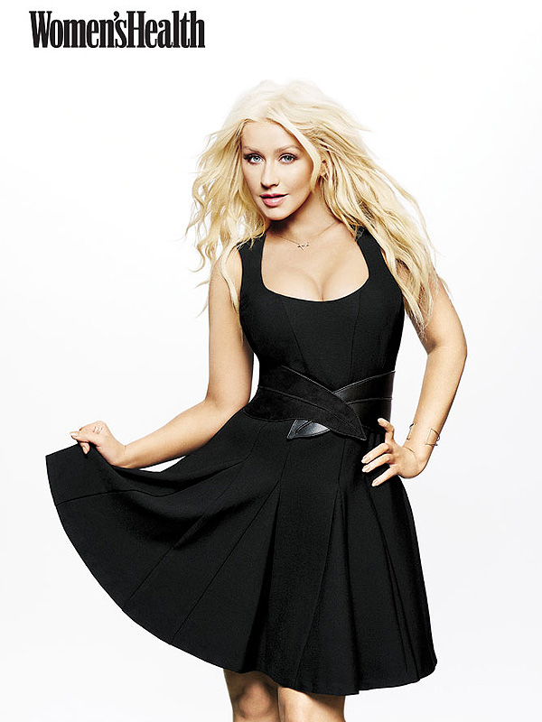 Christina Aguilera Women's Health magazine