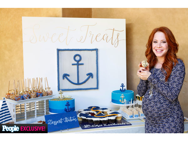 Amy Davidson baby shower