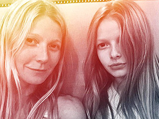 Mini-me! Gwyneth Paltrow Shares Photo with Daughter Apple