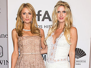 Nicky Hilton Rothschild Debuts Baby Bump at amfAR Gala As Sister Paris Says Baby's Sex Will Be a Surprise