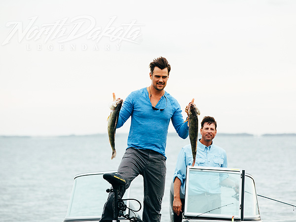 Josh Duhamel North Dakota son Axl photo