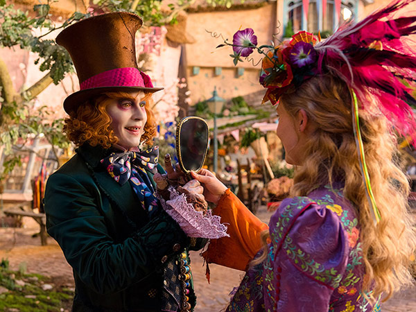 Pink Alice Through the Looking Glass