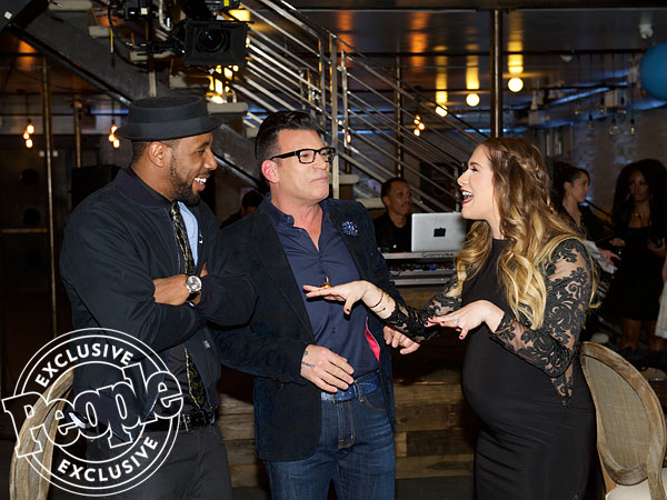 Allison Holker Stephen tWitch Boss baby shower