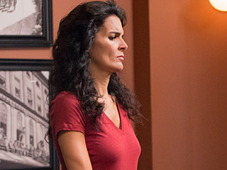 Angie Harmon on Working with Her 10-Year-Old Daughter: I Was 'Blissfully Happy'