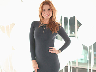 Bump, There It Is! JoAnna Garcia Swisher Debuts Baby Belly in Curve-Hugging Black Dress
