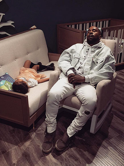 Celebrities Photograph Significant Others Sleeping