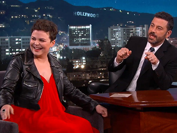 Ginnifer Goodwin pregnant Jimmy Kimmel