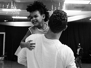 Beyoncé Shares Adorable Behind the Scenes Photos of Blue Ivy at Super Bowl 50