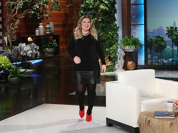 Kelly Clarkson on Ellen