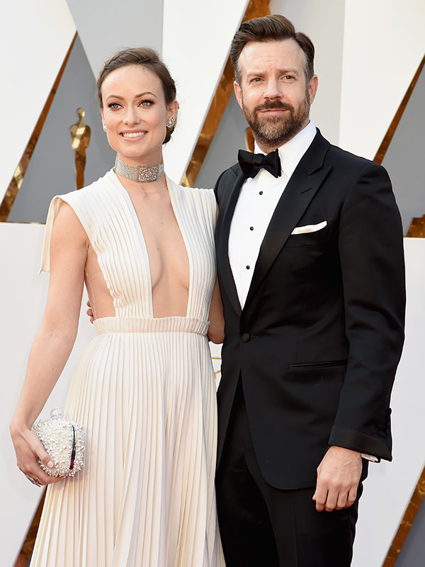 Olivia Wilde Jason Sudeikis at Oscars