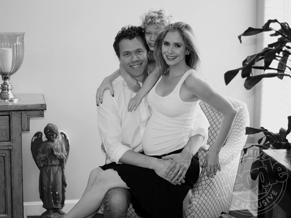 Ashley Jones pregnant expecting son