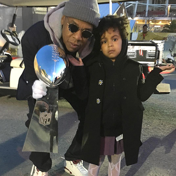 Beyonce daughter Blue Super Bowl