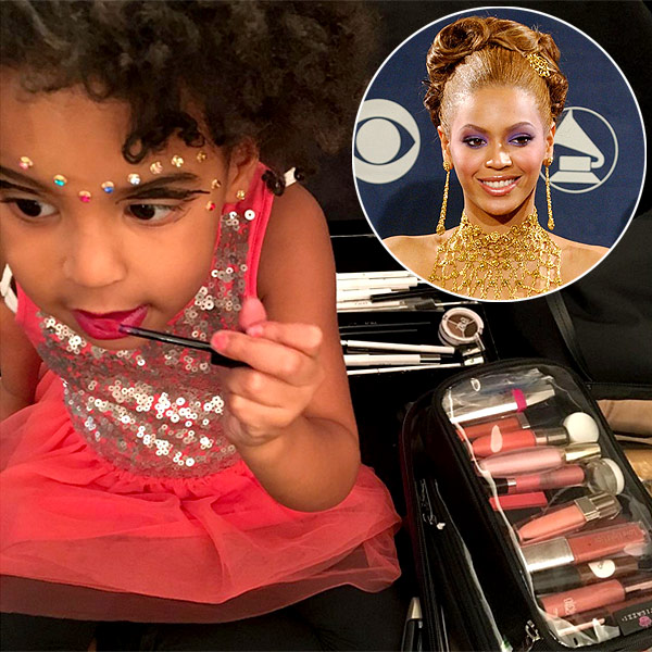 Blue Ivy Beyonce Makeup