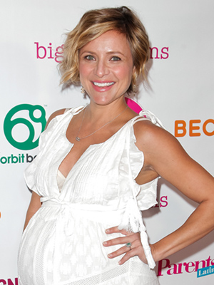 Christine Lakin Welcomes Daughter Georgia James