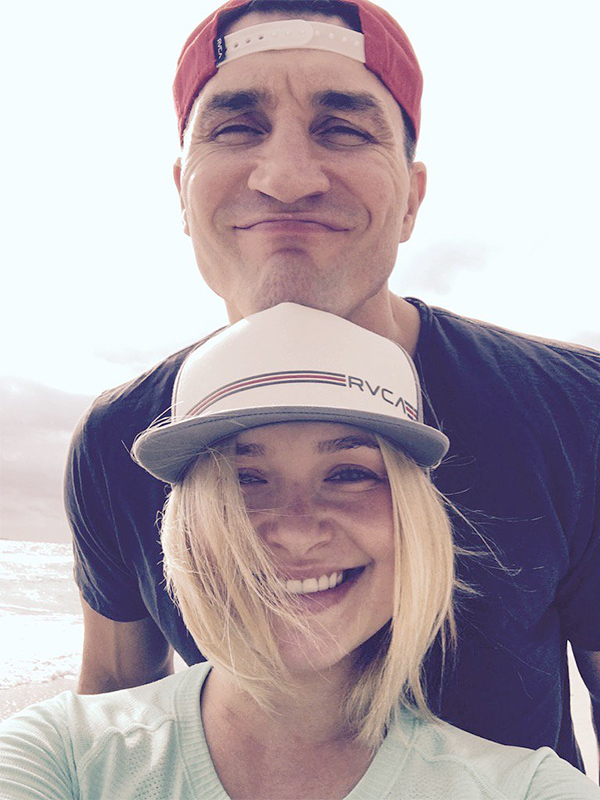 Hayden Panettiere and husband