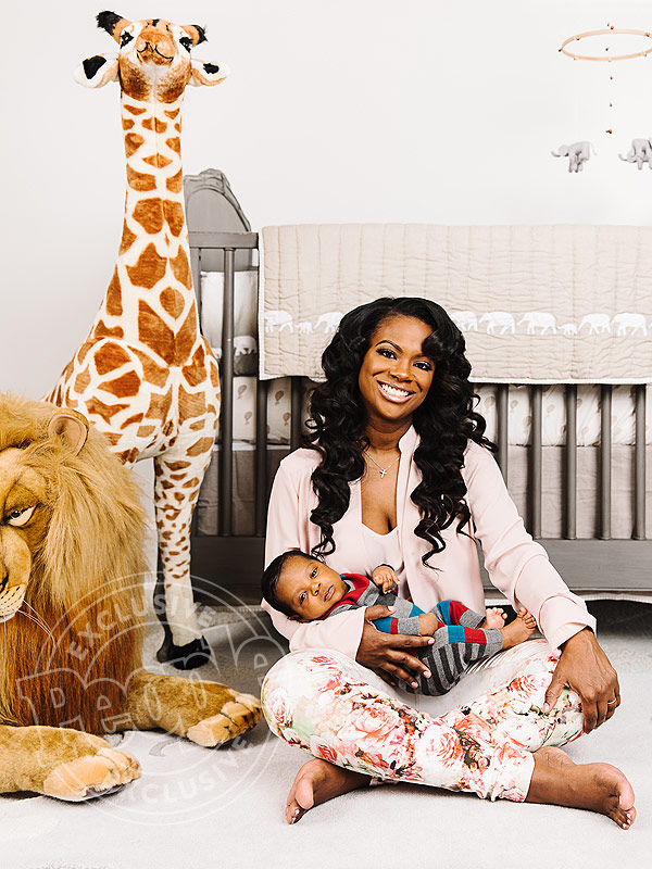 Kandi Burruss son Ace family photo