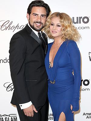 Paulina Rubio and Gerardo Bazúa Welcome Son