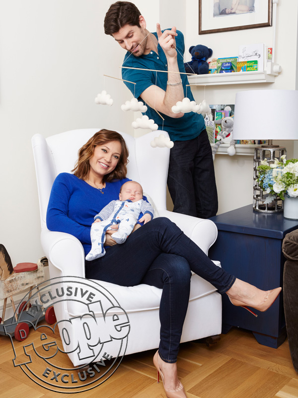 Ginger Zee Ben Aaron son Adrian family photo