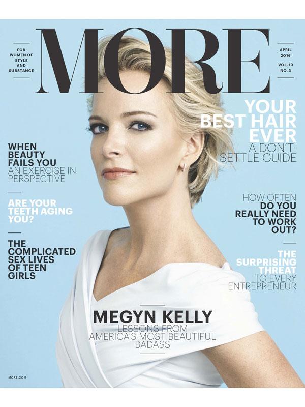 Megyn Kelly More magazine
