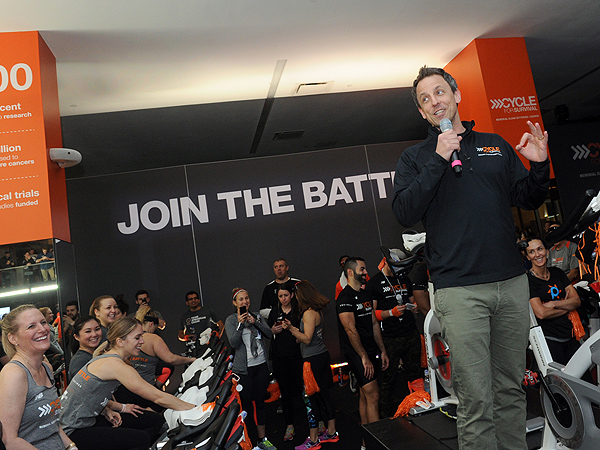 Seth Meyers Cycle for Survival