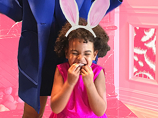 Blue Ivy's Tea Party with Beyoncé and Solange Is a Picture-Perfect Start to Spring