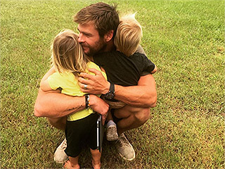 Chris Hemsworth and Elsa Pataky's Twins Are 2: See the Actress' Sweet Photo Tribute