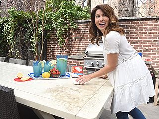 Pregnant Jillian Harris Stands Up to Critics: 'I'm Going to Drink My Damn Coffee!'