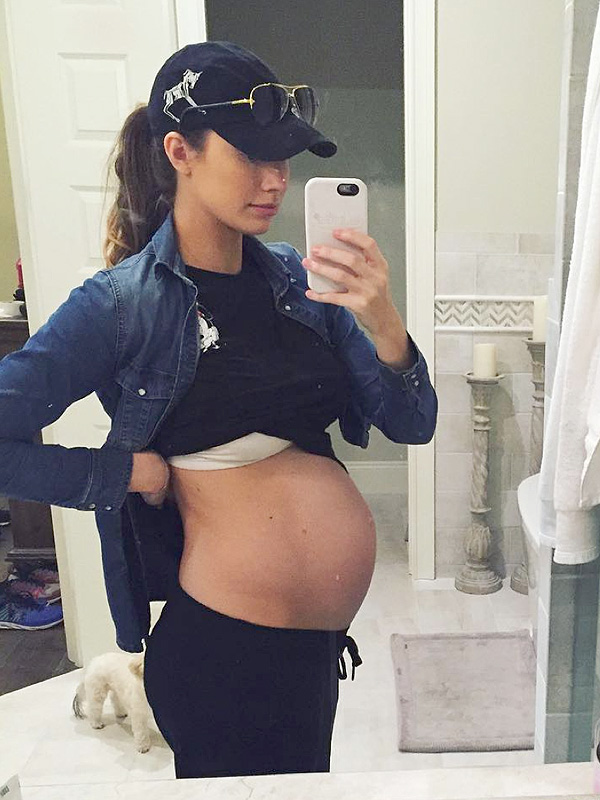 Katherine Webb Pregnant