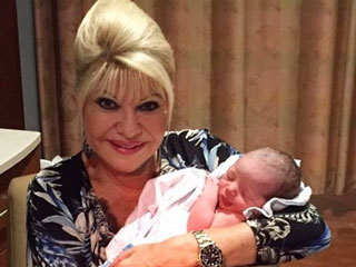 Adorable! Ivana Trump Meets Newest Grandson Theodore