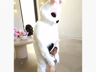 Kanye West Was a Hip Hop Bunny on Easter – and North Couldn't Get Enough