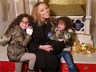 Mariah Carey Shares 'Pre-Easter' Photo of Twins Monroe and Morroccan at the Tower of London