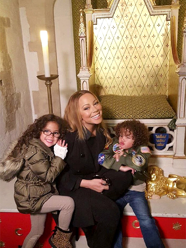 Mariah Carey and Twins