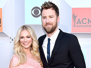 Parents Night Out! Charles Kelley and Wife Cassie Hit the ACM Red Carpet