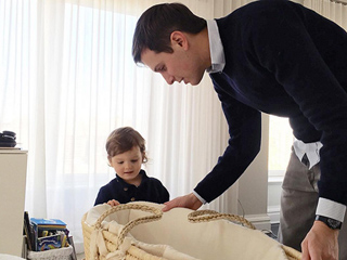 Boys' Club: Ivanka Trump Posts Sweet Snap of Husband and Son Checking Out Newborn Theo