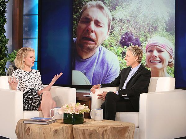 Kristen Bell Ellen DeGeneres