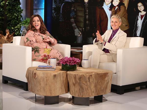 Melissa McCarthy Ellen DeGeneres Show