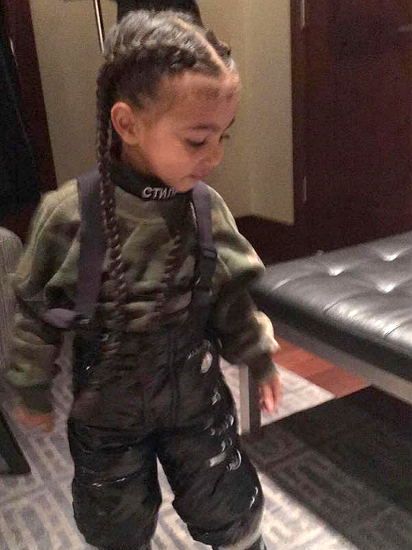 North West And Penelope Disick Now Have Hair Extensions