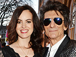 Ronnie Wood Welcomes Twin Daughters Gracie Jane and Alice Rose