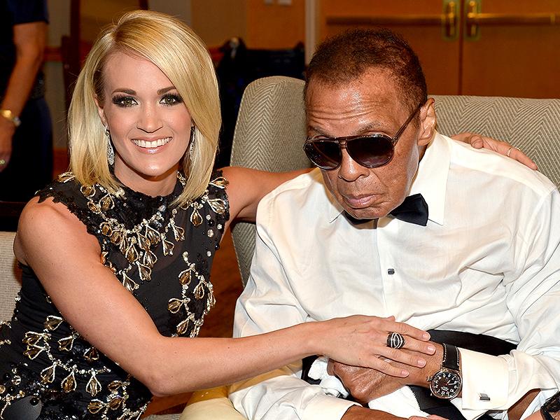Carrie Underwood Celebrity Fight Night