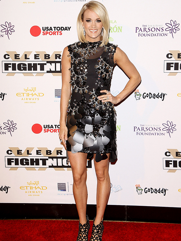 Carrie Underwood Celebrity Fight Night
