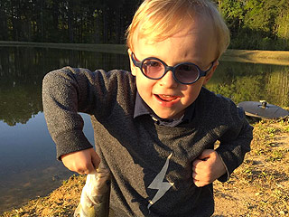 'Just Like His Daddy!' Chris Pratt Shares Video of Adorable Father-Son Fishing Trip