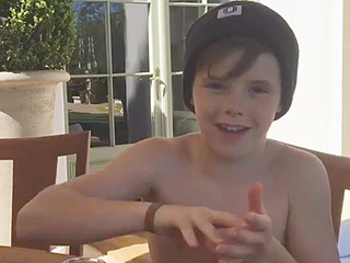 Get Him a Record Deal: Cruz Beckham Sings (and Performs!) 'Cups'