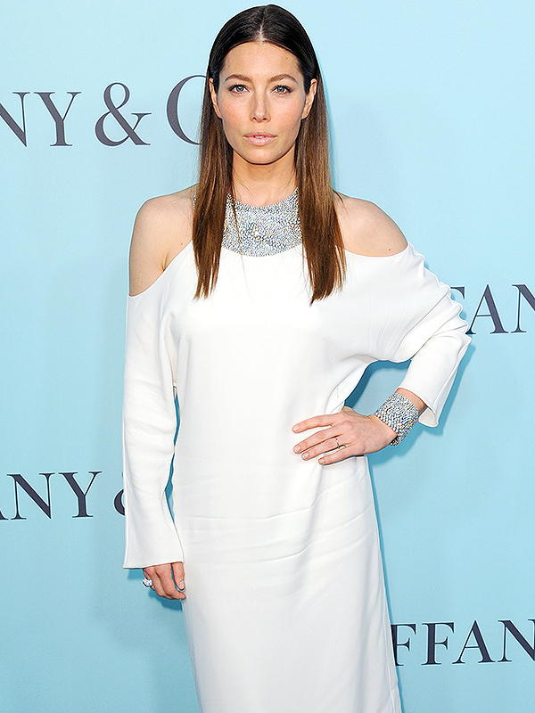 Jessica Biel Tiffany's Event