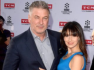 Date Night! Alec and Hilaria Baldwin Go Blue for All the President's Men Premiere
