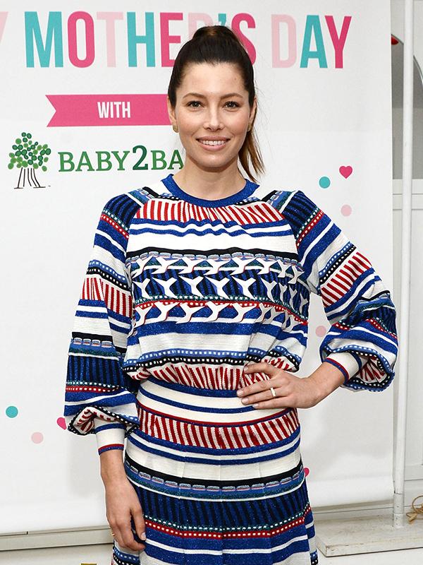 Jessica Biel Baby2Baby