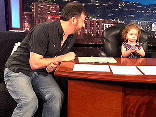 Step Aside! Jimmy Kimmel Has 'Been Replaced' as Host By Daughter Jane