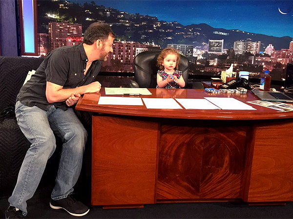 Jimmy Kimmel daughter Jane
