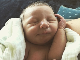 Meet Odin Reign! Nick Carter Shares Adorable Photo of His Newborn Son